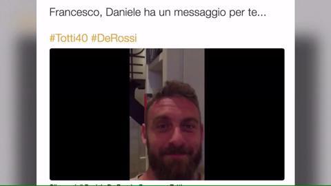 Carlo Verdone auguri a Totti, ecco il video che sta spopolando sul web