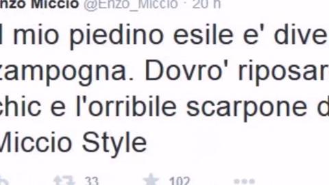 Ballando con le stelle: Enzo Miccio infortunato e impavido sul palco