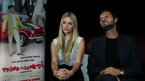 Prima di Lunedi?: Martina Stella e Fabio Troiano, intervista