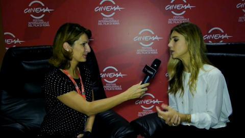 Intervista a Nicoletta Romanoff, madrina del Festival di Roma 2014