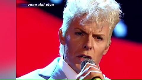 David Bowie scambiato con Kaspar Capparoni, gaffe imperdonabile