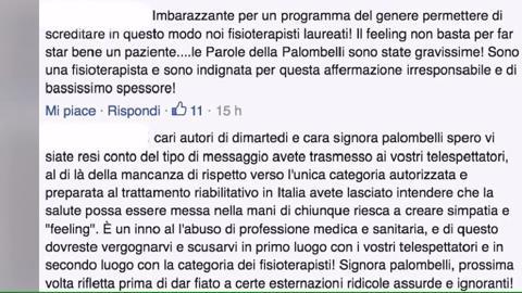 Barbara Palombelli a DiMartedì, critiche per quella frase in diretta