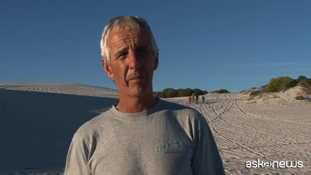 A Cape Town si scia sulla sabbia