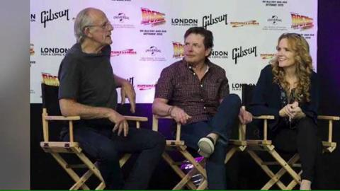 Ritorno al Futuro: reunion di Doc, Marty e Lorraine al London Film & Comic Con