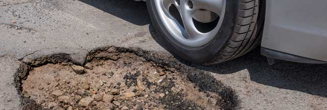 Buche della strada: come ottenere il risarcimento del danno