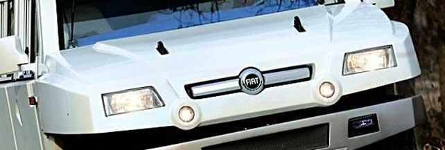 'Oltre': alla scoperta dell'hummer targato Fiat. Foto