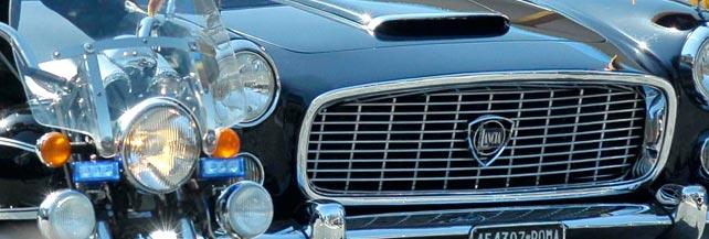 L'auto dell'addio alla Presidenza di Napolitano