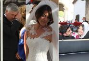 Ancelotti in lacrime al matrimonio di sua figlia Katia. Foto
