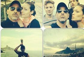 Eros e Marica, sposini in Brasile: una seconda luna di miele...