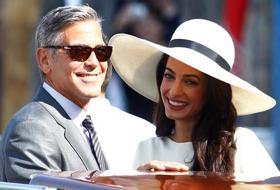 George e Amal sposi a Venezia: il fotoracconto