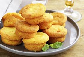 Muffin vegetariani al formaggio. La videoricetta