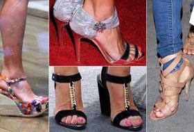I sandali delle star. Chic o sexy: quando i dettagli contano
