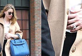 Johnny Depp e Amber Heard, fidanzati in... dolce attesa?