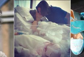Claudia Galanti è mamma: la prima foto della piccola Carolina Sky