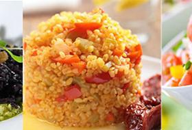 L'insalata di riso  è un'arte zen: riso , verdure e tranquillità