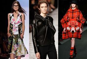 Mantelle, fiori e cappelli: le tendenze dell'autunno 2013