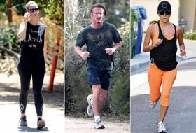 Le celebrities che se la danno a gambe sfatte, sporche e sudate