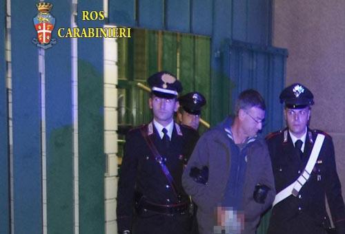 Mafia, blitz dei Ros a Roma: l'arresto di Carminati. Foto