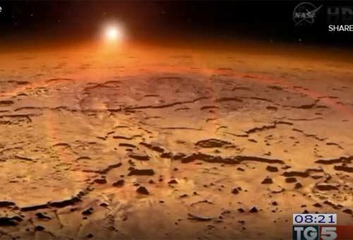 La sonda Maven è arrivata su Marte. Foto