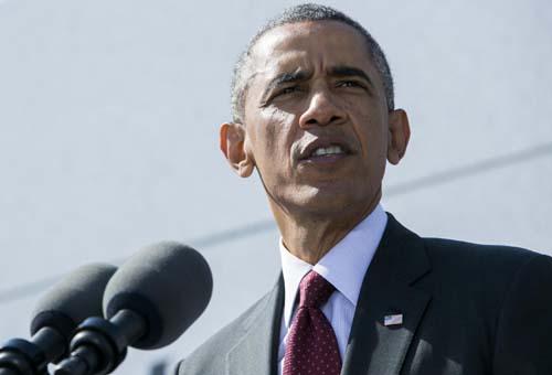 Il presidente degli Stati Uniti Obama. Le foto