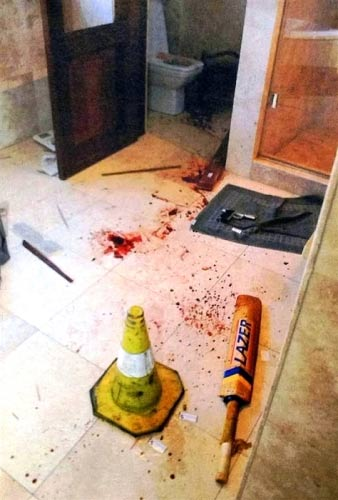 Nella villa di Pistorius: immagini choc dalla scena del crimine