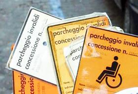 posteggio disabili