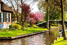 Giethoorn il paese senza strade