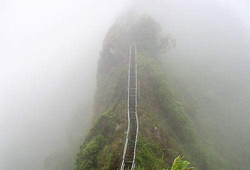 Ha'iku Stairs - hawaii
