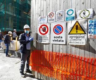 Italia produzione industriale sprofonda minimi record marzo Covid - Istat