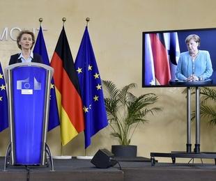 Incontro tra Merkel Von der Leyen stringe per accordo