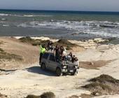 Agrigento, Mareamico: 'Incivili su una Jeep a Punta Bianca' (Video)