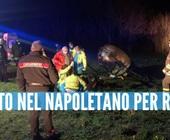 Elicottero precipitato nel Casertano, Rosa al telefono col marito dopo lo schianto poi il dramma