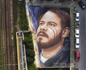 Da Jorit ritratto di Hasel a Napoli per libertà espressione
