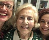 A 93 anni volontaria tra malati cancro