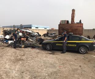 Castelvetrano, Traffico illecito di rifiuti: emesse due misure cautelari