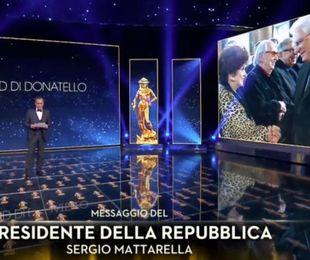 'Il traditore' trionfa ai David, Mattarella 'Cinema arte del sogno'