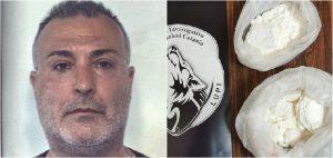 Cocaina per 150.00 euro, bloccato corriere