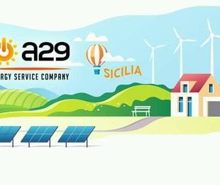 A29 Energy Service Company Fly Volley Marsala lavorano insieme per restare fianco una con altra