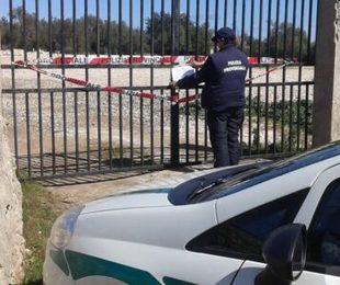 Floridia, sequestrata un'area di 7mila metri quadri adibita a discarica abusiva di rifiuti speciali