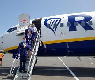 Ryanair ripristinerà il 40% dei voli di linea dal 1° luglio