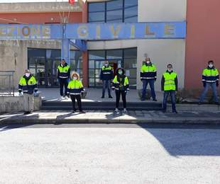 Emergenza Covid-19, la Protezione Civile di Canicattini in prima fila per servire la comunità