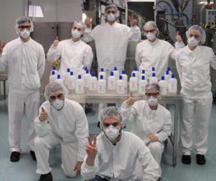 Coronavirus, da Menarini nuove donazioni e record gel disinfettante