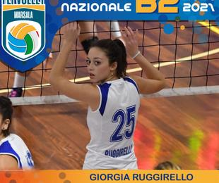 Marsala centrale Giorgia Ruggirello confermata dalla Fly Volley