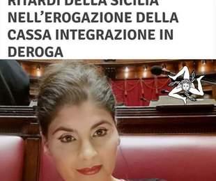 Antonella Papiro, deputata nazionale M5S,: interroga il Governo sui ritardi della Sicilia, nell'erogazione della Cassa integrazione in ...