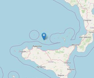 Terremoto al largo della Sicilia, epicentro nel Tirreno Meridionale [DATI e MAPPE]