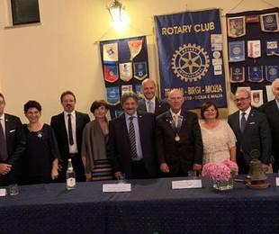 Passaggio della campana Rotary Club Trapani Birgi Mozia