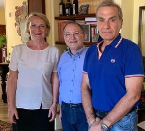 Marsala 2020 Giacomo Manzo con Unità Siciliana Api sostegno Giulia Adamo