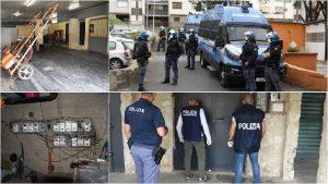 Ancora imponente blitz Librino cento agenti rivoltano quartiere catanese
