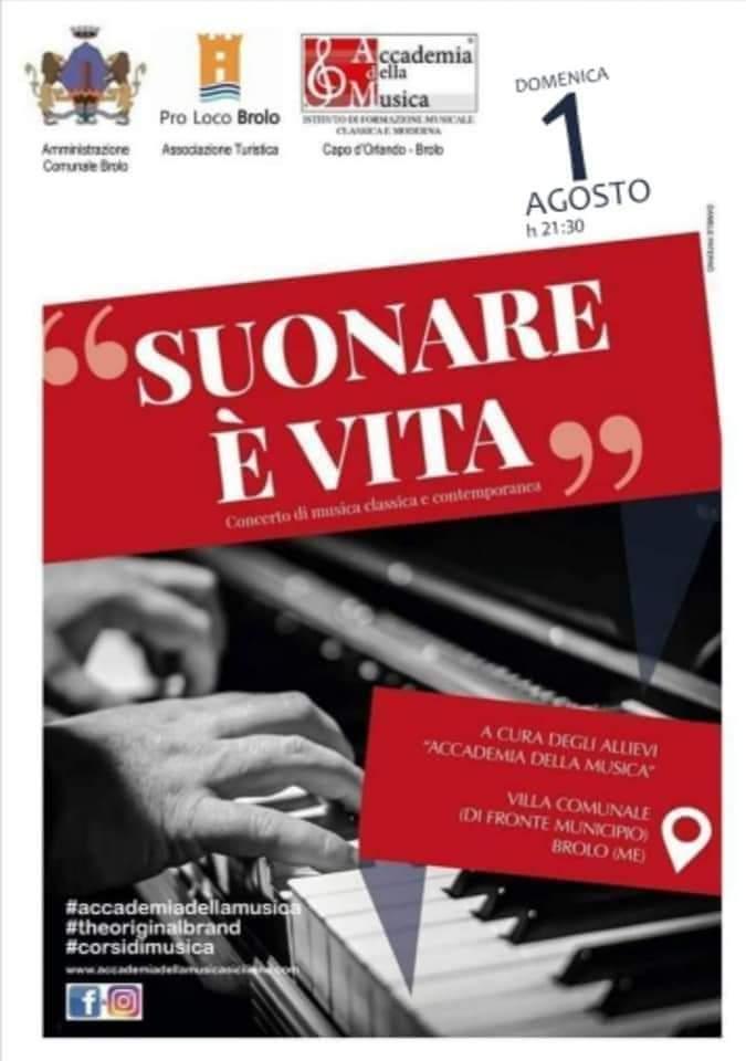 BROLO - Suonare Vita Il concerto in Villa dellAccademia della Musica