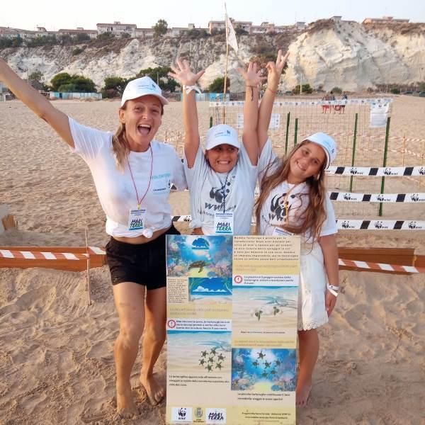 Porto Empedocle Wwf e Mariterra animano giornata con bimbi sulla spiaggia